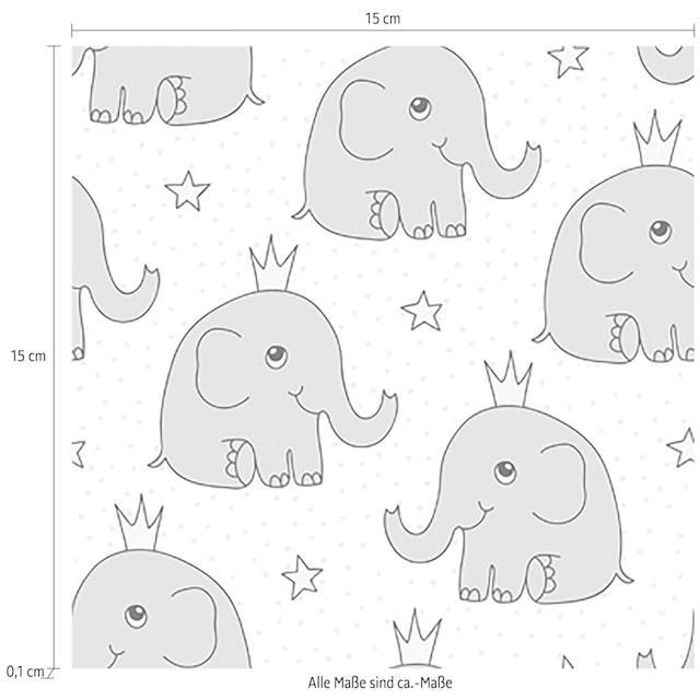 Fliesenaufkleber »Elefanten«