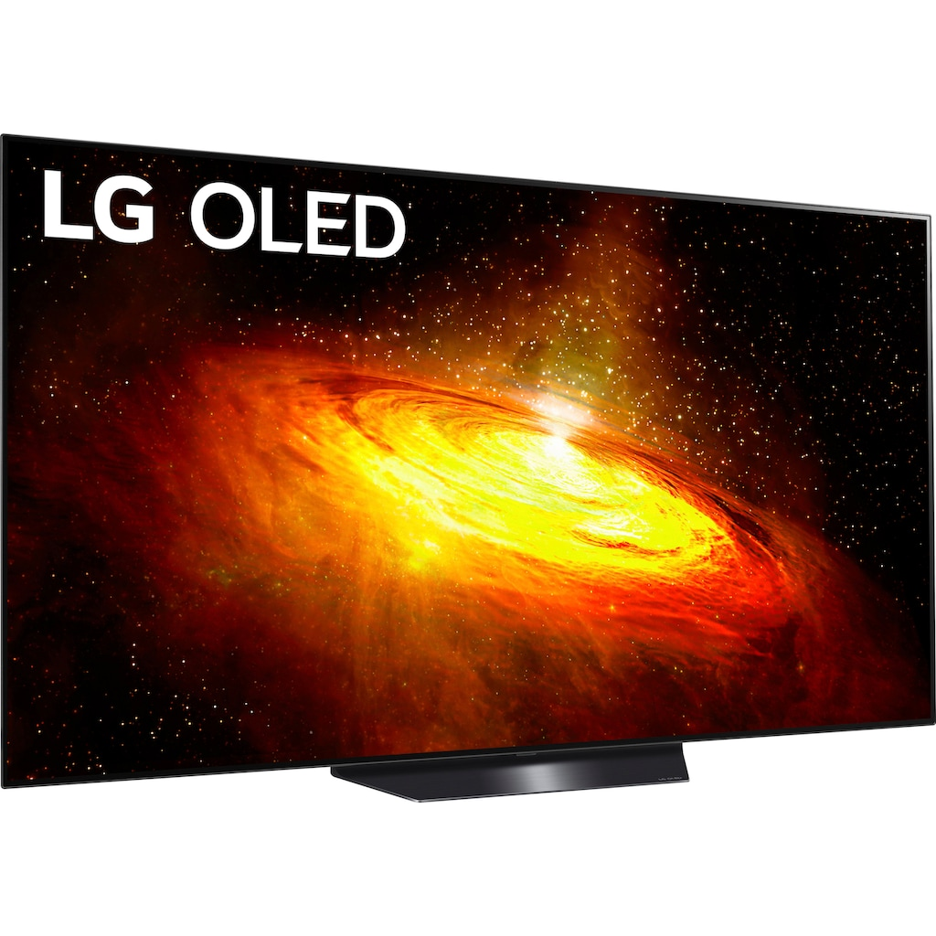 "LG OLED-Fernseher »OLED55BX9LB«, 139 cm/55 "", 4K Ultra HD, Smart-TV, Twin Triple-Tuner-Google Assistant, Alexa und AirPlay 2-inkl. Magic Remote-Fernbedienung"