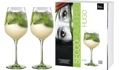Eisch Weinglas »Secco Flavoured«, (Set, 2 tlg.), (Hugo-Glas), bleifreies Kristallglas, 640 ml kaufen