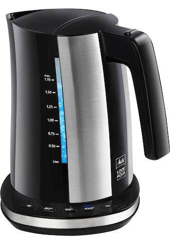 Melitta Wasserkocher, Look Aqua II Deluxe 1026 - 04, 1,7 Liter, 2400 Watt kaufen