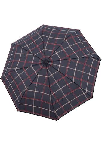 doppler® Taschenregenschirm »Carbonsteel Magic, Karo Blau« kaufen
