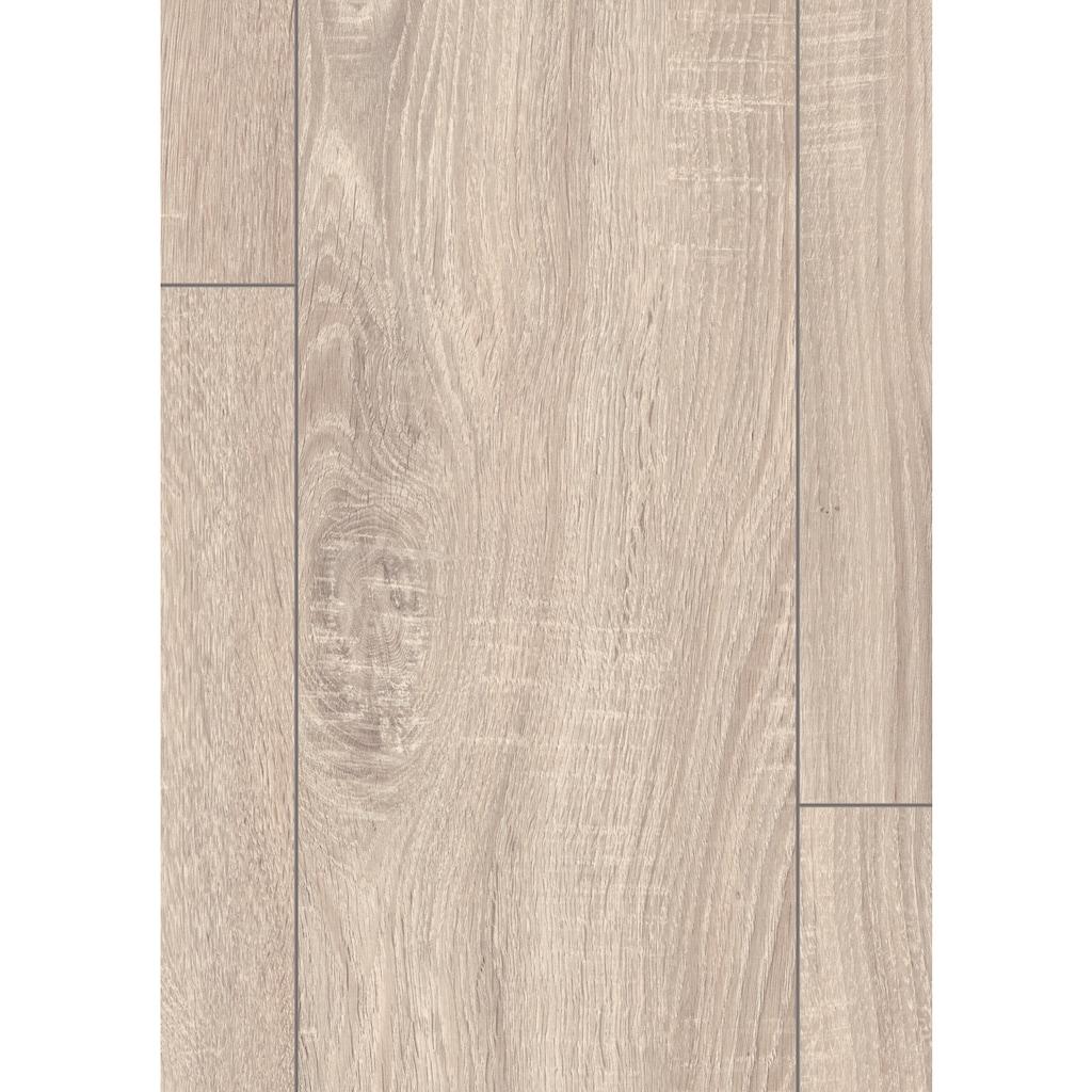 EGGER Laminat »HOME Toscolano Eiche hell«, pflegeleicht, 1291 x 193 mm, Stärke: 8 mm