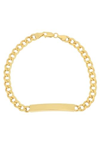 Firetti ID Armband »Gravurplatte, 2-fach diamantiert, poliert, mit Gratisgravur« kaufen