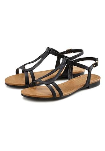 LASCANA Sandale, in klassischem Design kaufen