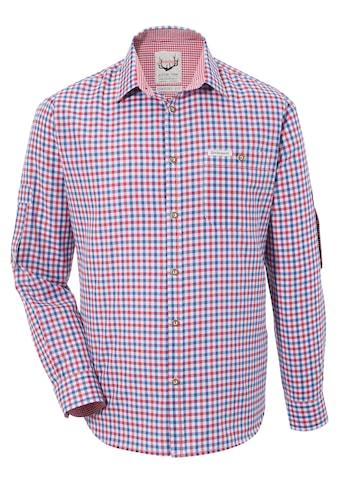Stockerpoint Trachtenhemd im modischem Karo kaufen