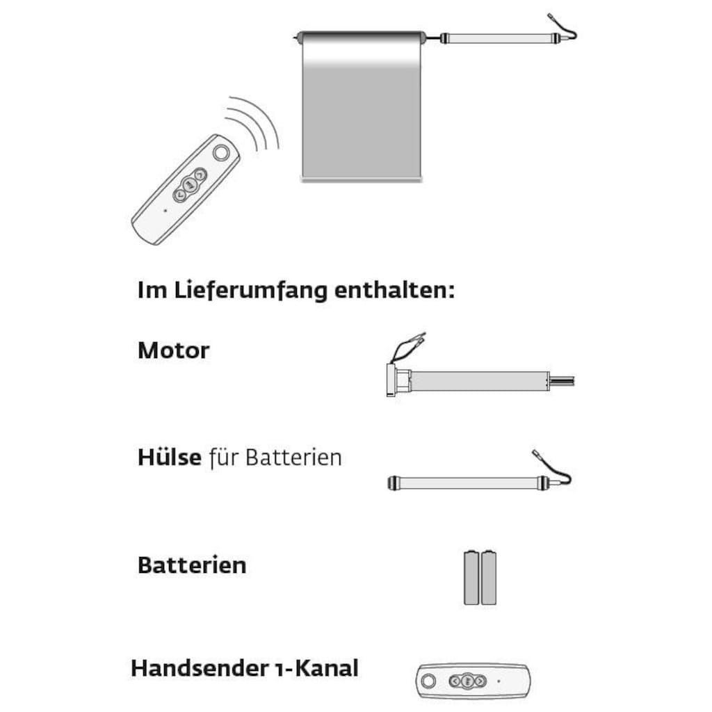 sunlines Batterierollo »Premium Style Batterierollo Uni«, verdunkelnd, mit Bohren, im Fixmaß