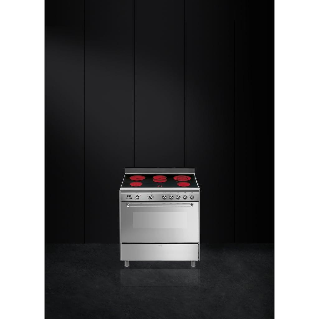 Smeg Elektro-Standherd »SCD90CMX9«, SCD90CMX9