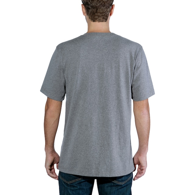 CARHARTT T-Shirt »C-LOGO GRAPHIC S/S«, GRANITE HEATHER