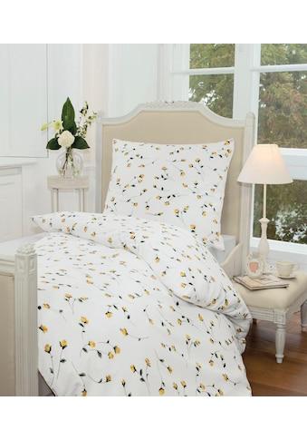 Janine Bettwäsche »Tango 2174«, mit floralem Muster kaufen