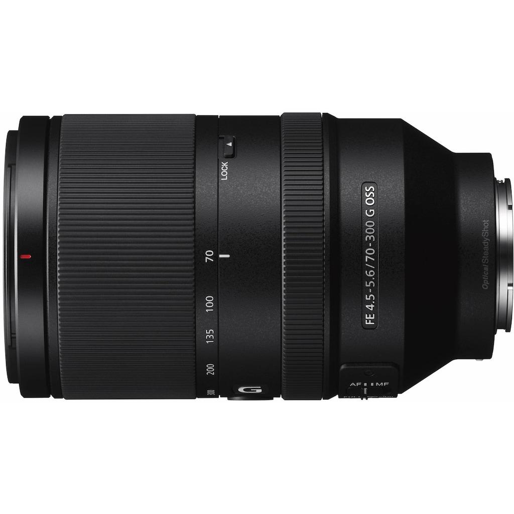 Sony Objektiv »SEL-70300G E-Mount Telezoom«, E 70-300mm F4.5-5.6, OSS, APS-C