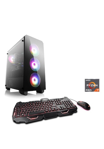 CSL »Sprint T8621 Windows 10« Gaming - PC (AMD, Ryzen 7, RX 5700 XT) kaufen