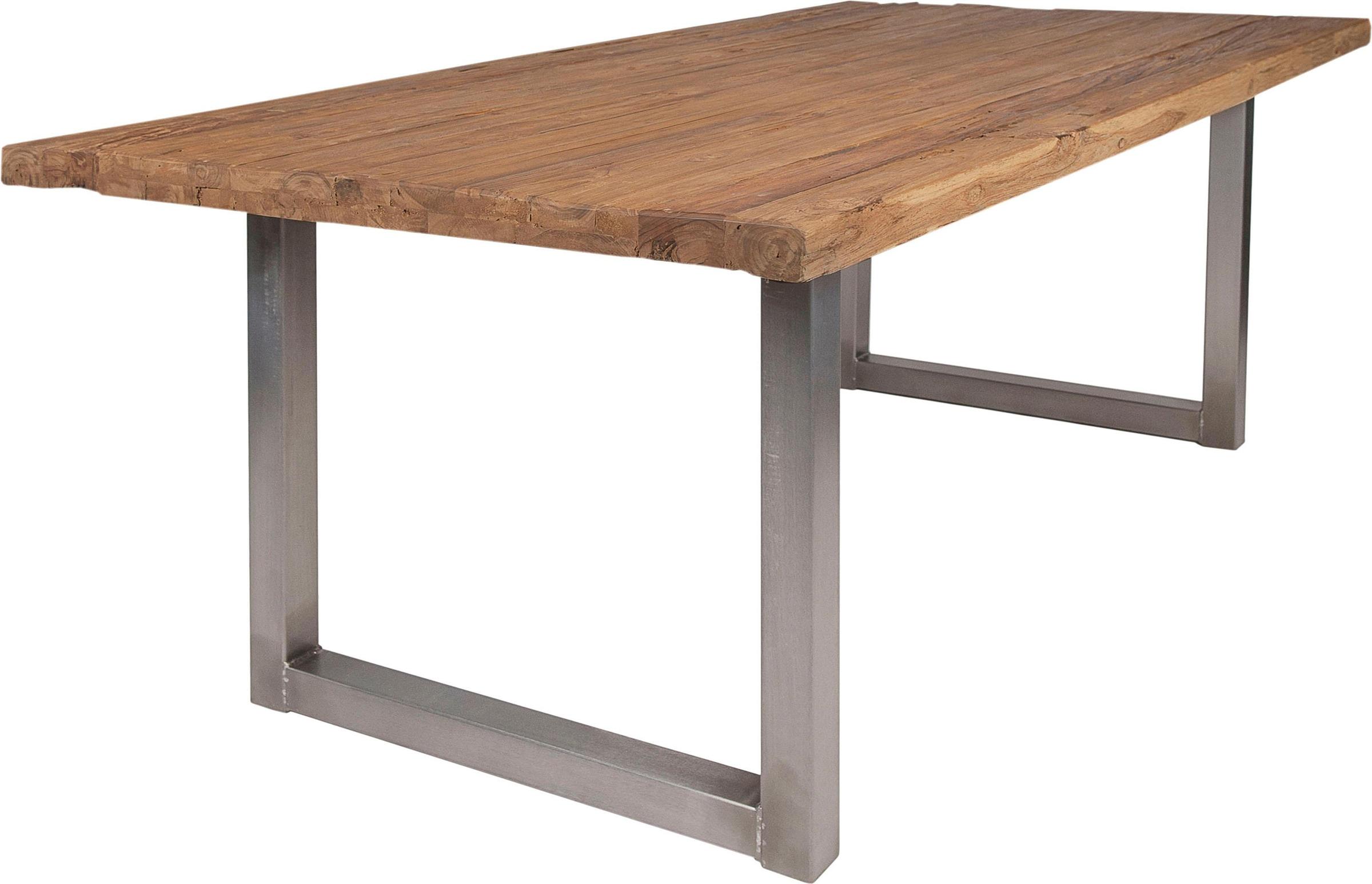 Outdoor Küche Aus Altem Holz : Silberfarben altholz esstische online kaufen möbel suchmaschine