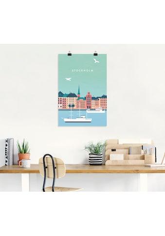 Artland Wandbild »Stockholm«, Schweden, (1 St.), in vielen Größen & Produktarten -... kaufen