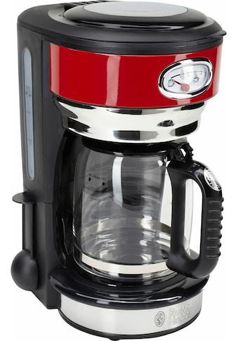 RUSSELL HOBBS Filterkaffeemaschine »Retro Ribbon Red 21700-56«, Papierfilter, 1x4 kaufen
