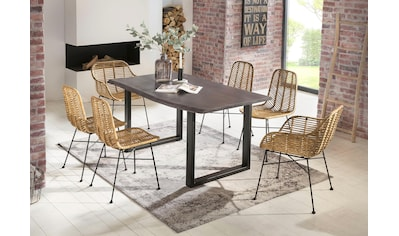 SIT Esstisch »Tops&Tables«, mit Tischplatte aus Akazie, mit Baumkante kaufen