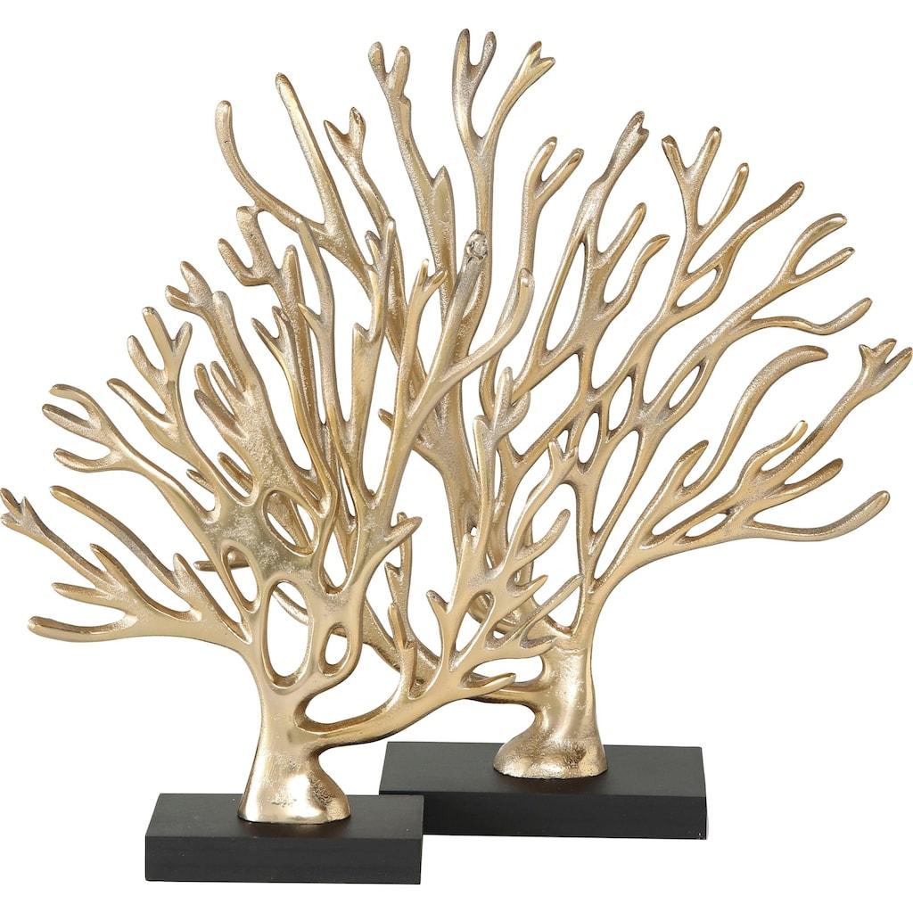 BOLTZE Dekofigur »Coral« (Set, 2 Stück)