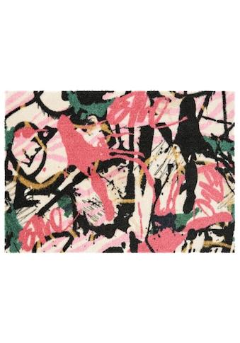 ELLE Decor Fußmatte »Artist«, rechteckig, 7 mm Höhe, Fussabstreifer, Fussabtreter, Schmutzfangläufer, Schmutzfangmatte, Schmutzfangteppich, Schmutzmatte, Türmatte, Türvorleger, In- und Outdoor geeignet kaufen