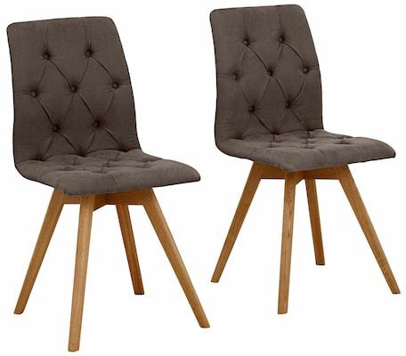 Stühle mit Polsterbezug