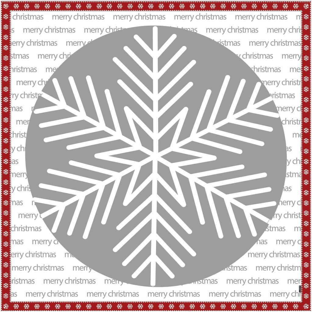 MySpotti Vinylteppich »Buddy Lauritz«, quadratisch, 0,03 mm Höhe, eckig, wasserfest und statisch haftend