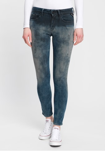 Replay Skinny-fit-Jeans »New Luz«, cooles Design - in verwaschener Optik kaufen