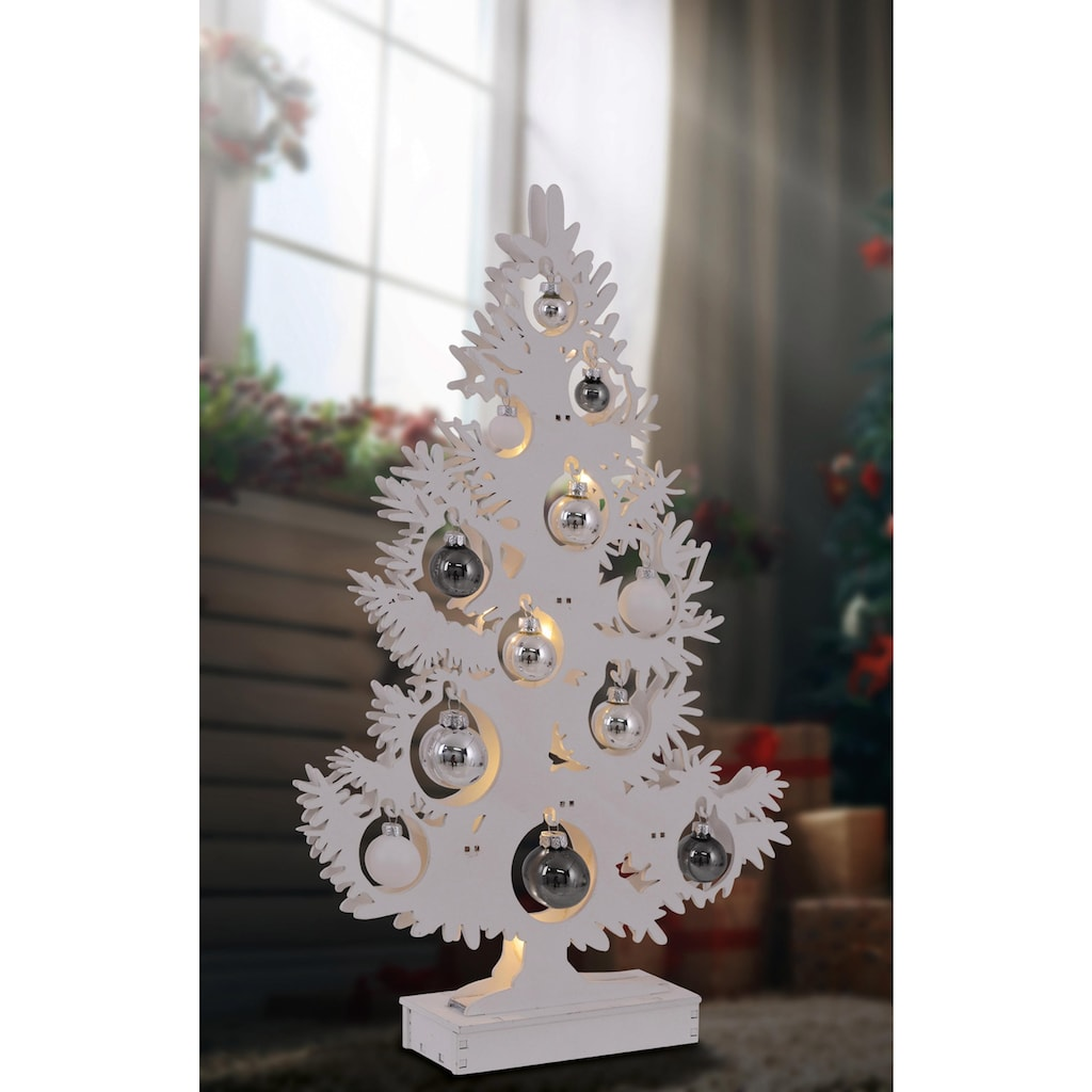näve LED Dekoobjekt »BAUM«, LED-Board, Warmweiß, Höhe 50 cm