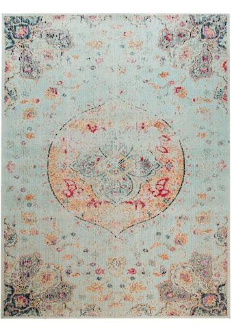 Home affaire Teppich »Artigova 20«, rechteckig, 11 mm Höhe, Kurzflor, Vintage Design,... kaufen