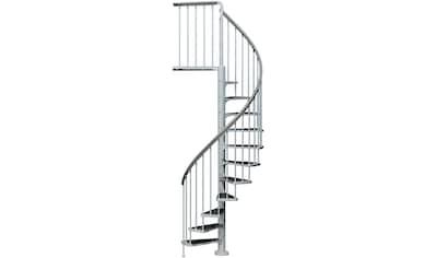 DOLLE Außentreppe »Gardenspin«, Ø: 125 cm, für Geschosshöhen bis 282 cm, TRIMAX® - Stufen kaufen