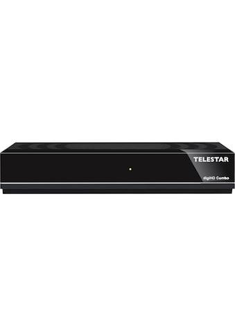 TELESTAR SAT-Receiver »digiHD Combo«, ( ), DVB-C/DVB-T2, HDTV, USB, HDMI, Mediaplayer kaufen