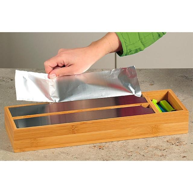 KESPER for kitchen & home Folienspender Bambus-Holz