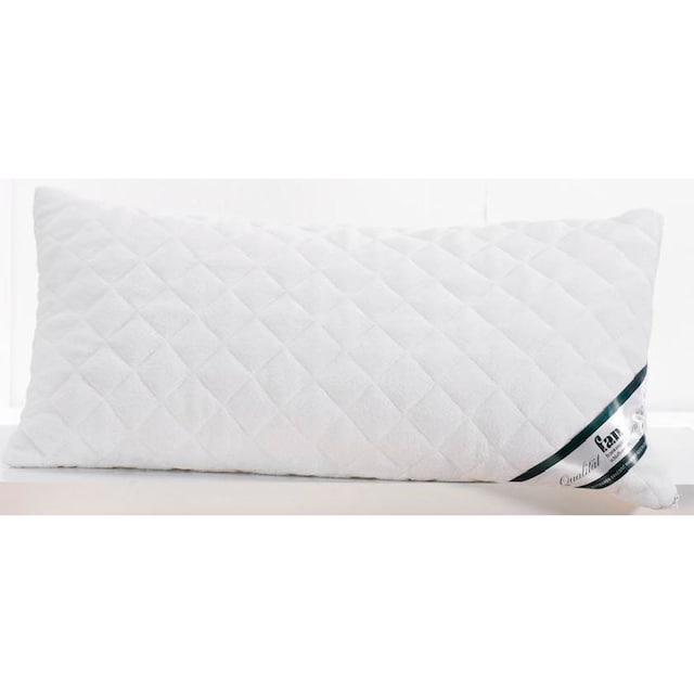 fan Schlafkomfort Exklusiv Kopfkissen »Sleep Care Latex Soft«, (1 St.), mit softer Latexstäbchen-Füllung