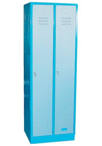 Güde Garderobenschrank »TYP GS 2«, B/T/H: 60x50x177,5 cm, abschließbar kaufen