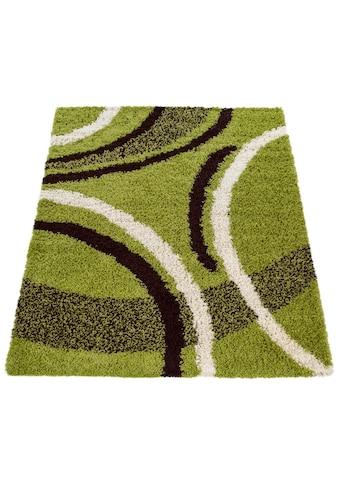 Paco Home Hochflor-Teppich »Mango 301«, rechteckig, 35 mm Höhe, Moderner Hochflor... kaufen
