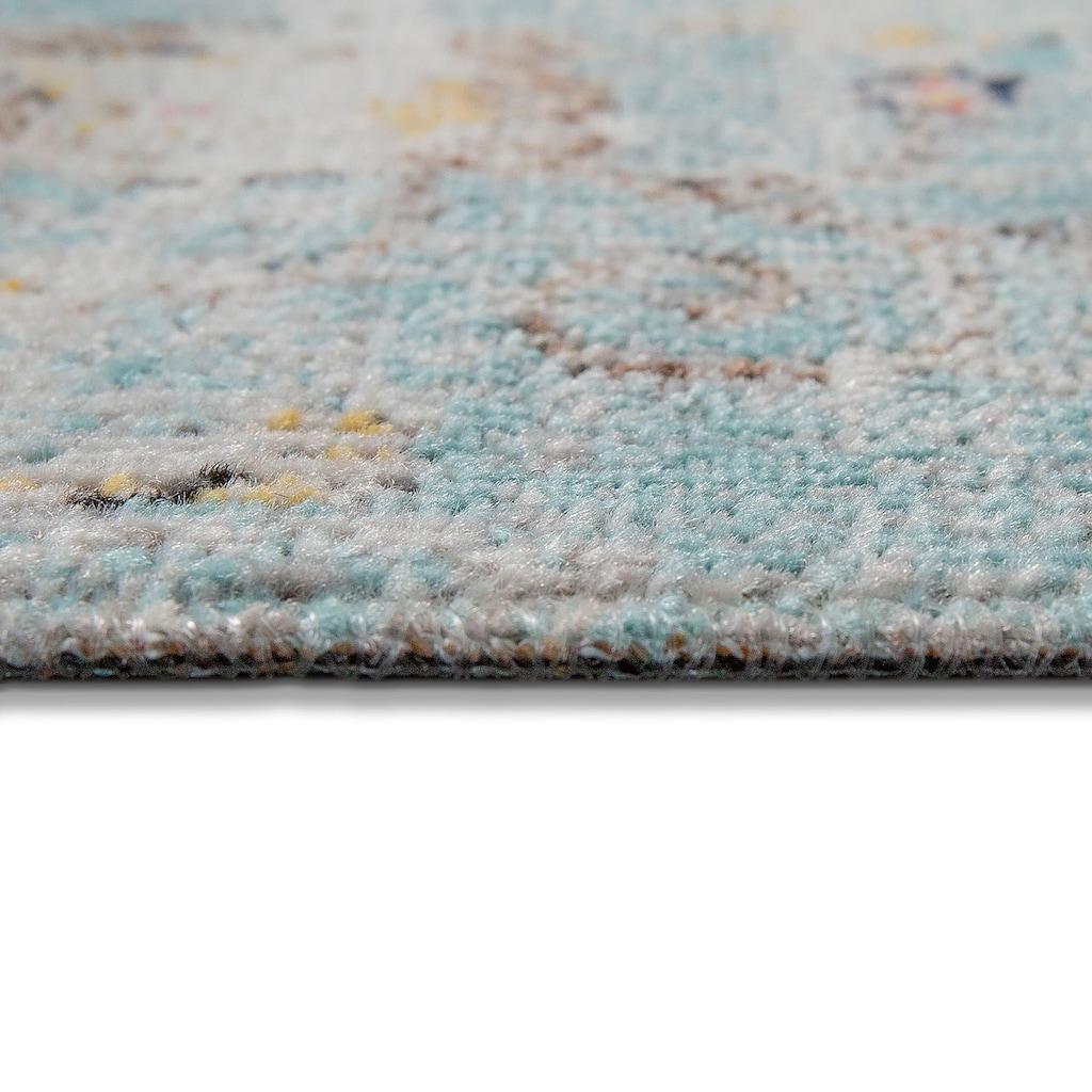 Home affaire Teppich »Artigova 20«, rechteckig, 11 mm Höhe, Kurzflor, Vintage Design, In- und Outdoor geeignet, Wohnzimmer