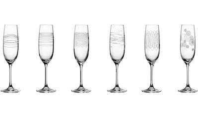 LEONARDO Sektglas »Casella«, (Set, 6 tlg.), 190 ml, 6-teilig kaufen