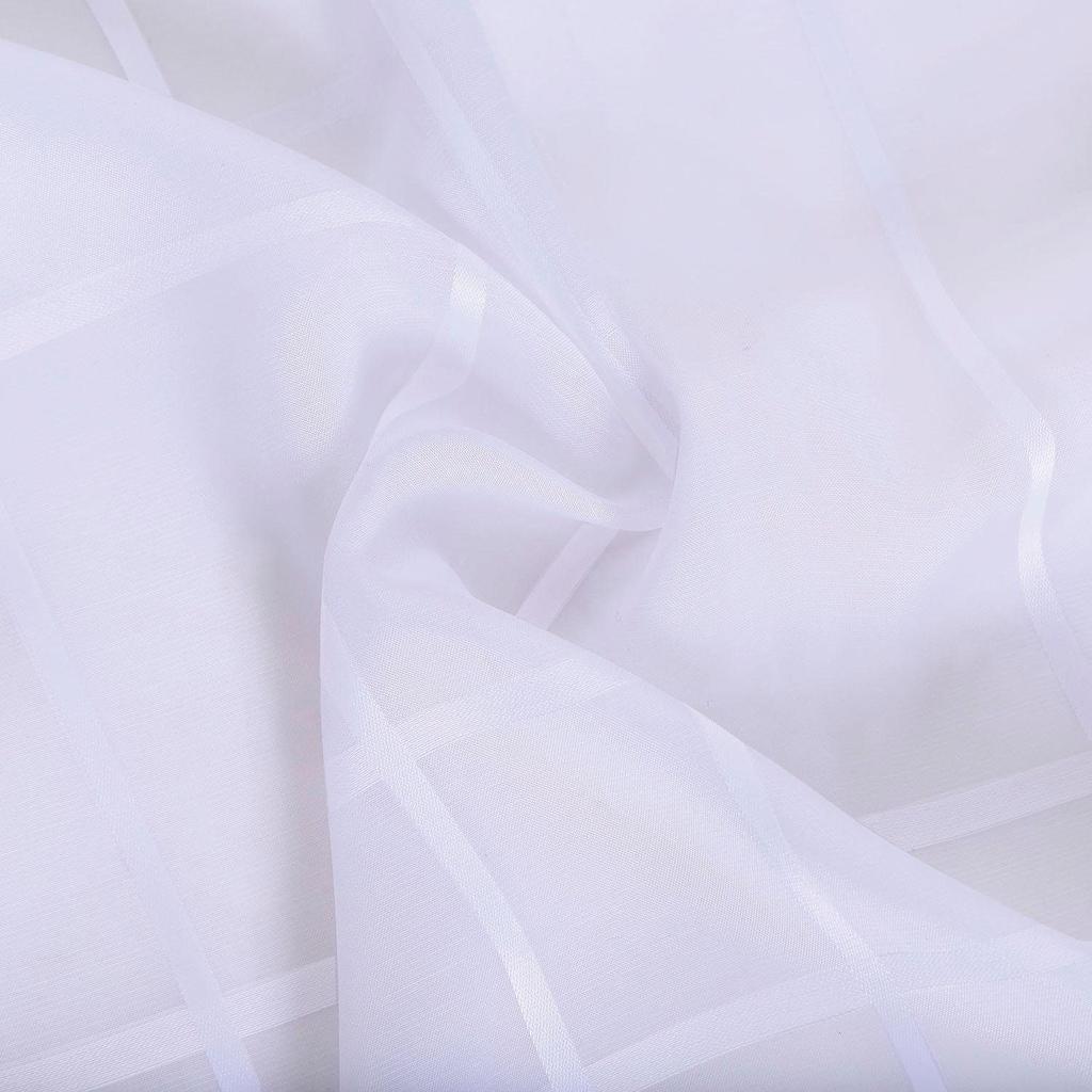Gerster Raffrollo »Lando«, mit Klettband, ohne Bohren, freihängend, Raffrollo Lando mit Karo-Design