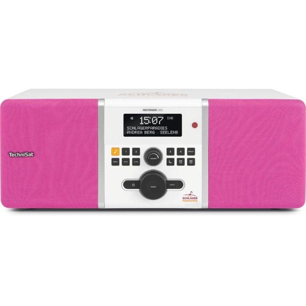 TechniSat Digitalradio (DAB+) »DIGITRADIO 305 Schlagerparadies Edition«, (Digitalradio (DAB+) 10 W), für Schlager-Fans