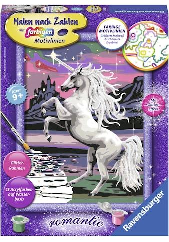 Ravensburger Malen nach Zahlen »Magisches Einhorn«, Made in Europe, FSC® - schützt... kaufen