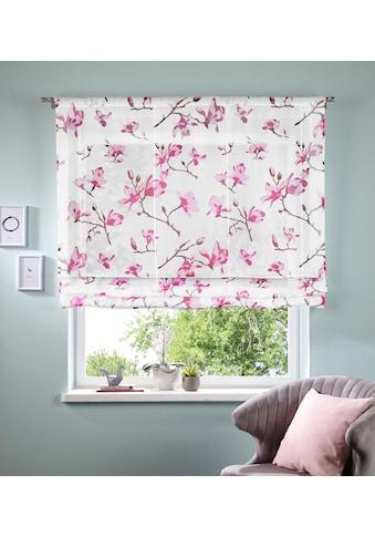 Bändchenrollo »Orchidee«, my home, mit Stangendurchzug kaufen