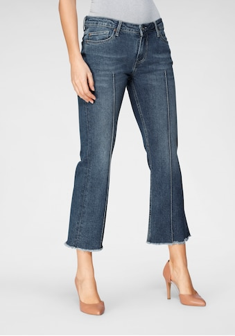BLUE FIRE Ankle-Jeans »EMMA-BF«, mit leicht ausgefranster Kante am Saumabschluss kaufen