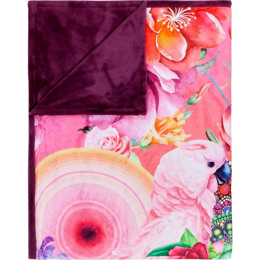 hip Plaid »Nevine«, mit Mandalas und Blumen