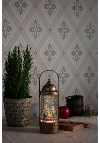 """KONSTSMIDE """"LED """"""""Wasserlaterne mit Weihnachtsbäumen und Auto"""""""""""" kaufen"""