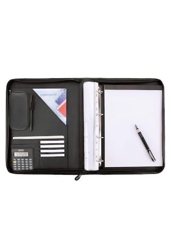 Alassio® Ringbuchmappe »DIN A4, Reggio«, mit Taschenrechner kaufen