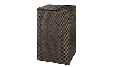 HANSE GARTENLAND Mülltonnenbox, für 1x120 l aus Polyrattan, BxTxH: 64x66x109 cm kaufen