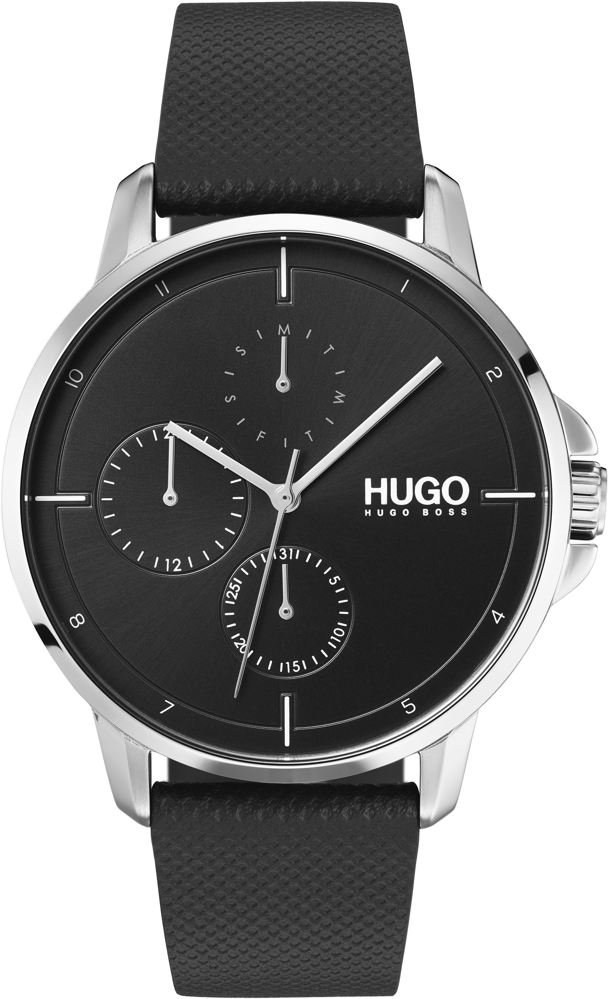 HUGO Multifunktionsuhr »Fokus, 1530022«