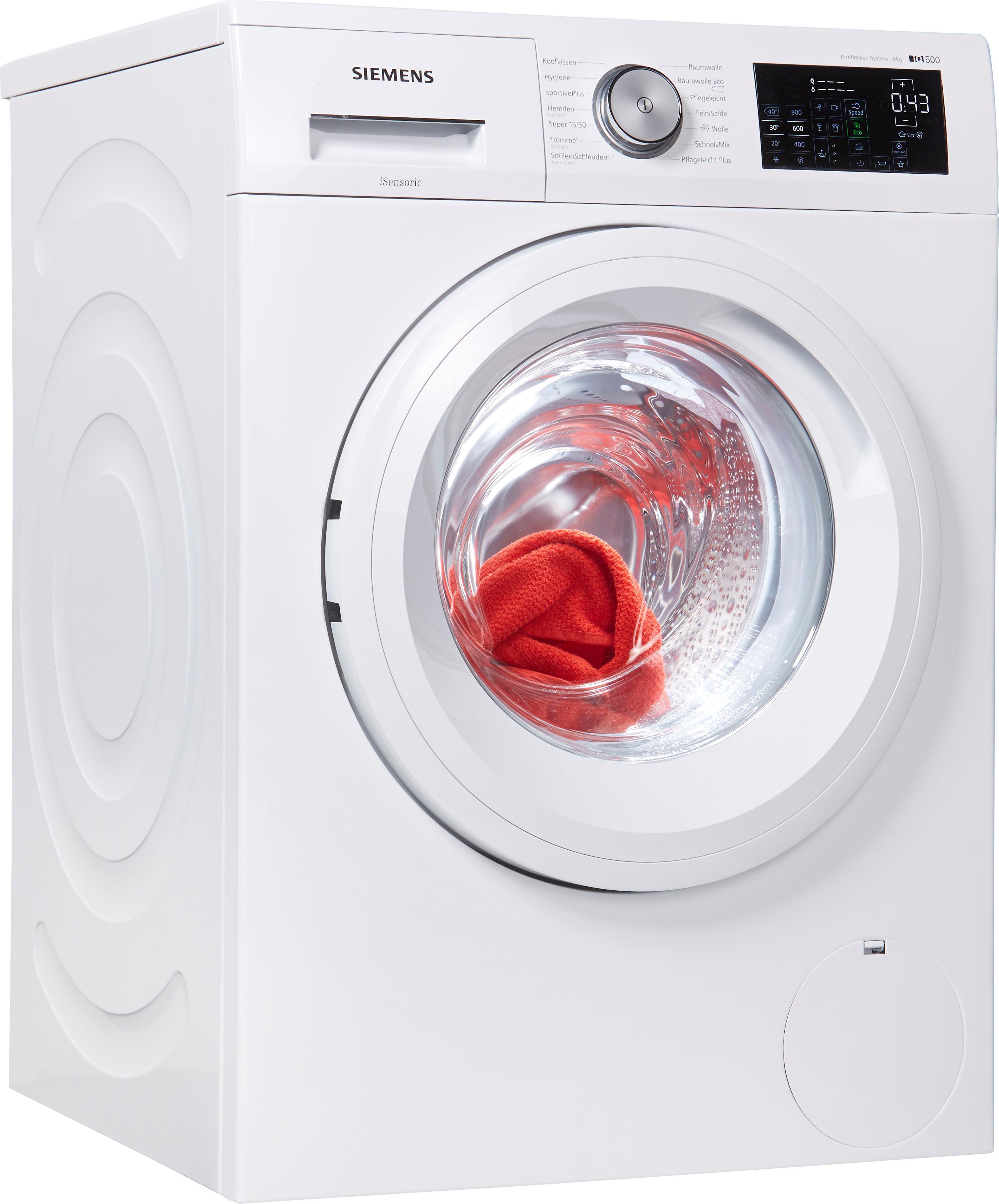 siemens waschmaschine iq500 wm14t5em auf raten kaufen. Black Bedroom Furniture Sets. Home Design Ideas