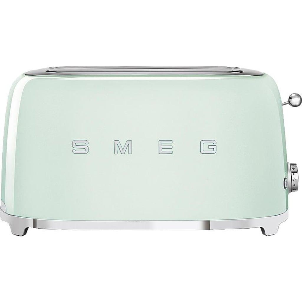 Smeg Toaster »TSF02PGEU«, 2 lange Schlitze, für 2 Scheiben, 1500 W