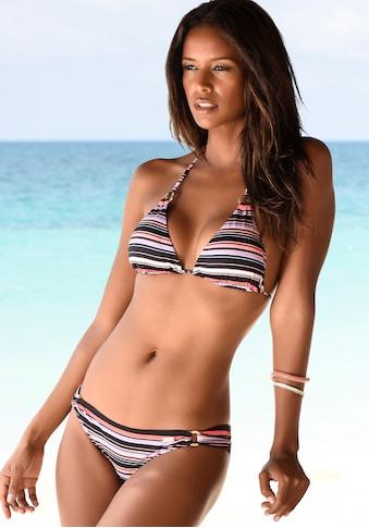 LASCANA Bikini-Hose »Voss«, mit Querstreifen kaufen