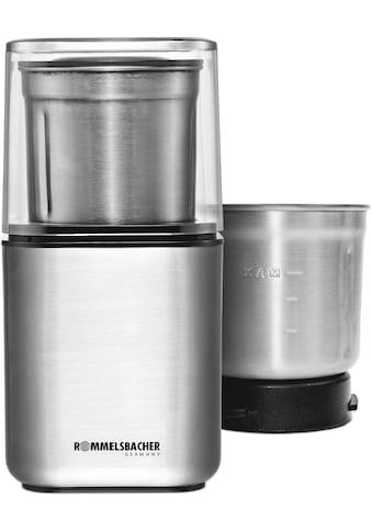 Rommelsbacher Kaffeemühle »EGK 200«, 200 W, 70 g Bohnenbehälter kaufen