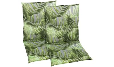 GO - DE Sesselauflage »Niederlehner«, 2er Set, (L/B): ca. 98x48 cm kaufen