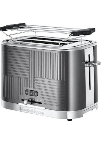 RUSSELL HOBBS Toaster »Geo Steel 25250-56«, 2 kurze Schlitze, 1640 W kaufen